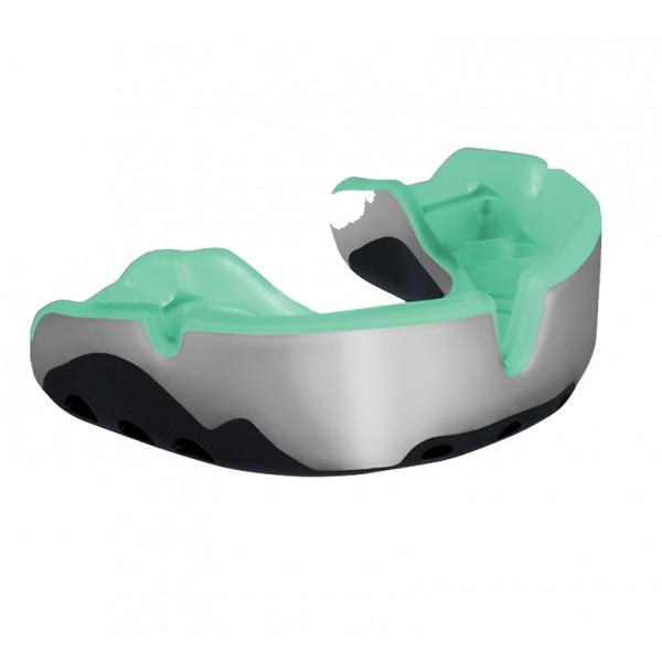 Tandskydd - grön silver
