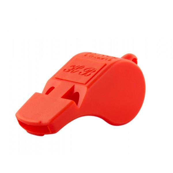 Plast visselpipa röd