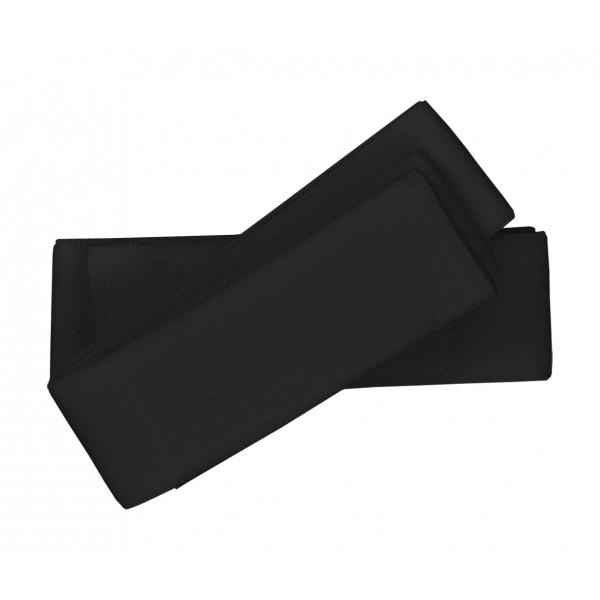 Benskyddsband i svart